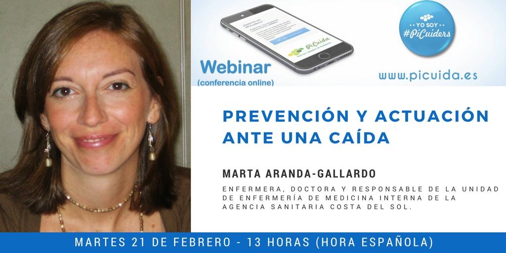 Webinar en #PiCuida sobre prevención y actuación ante una caída