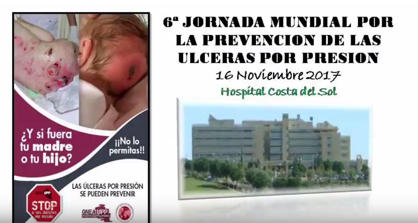 El Hospital Costa del Sol se suma a la celebración de la 6ª Jornada Mundial por la prevención de las úlceras por presión
