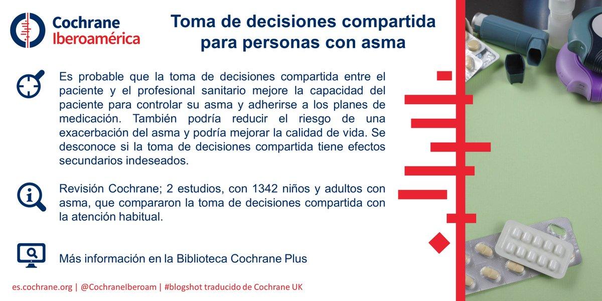 Evidencias: Toma de decisiones compartida para personas con asma