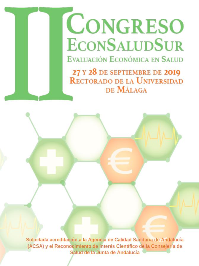 II Edición del Congreso #EconSaludSur: Málaga (27 y 28 de Septiembre)