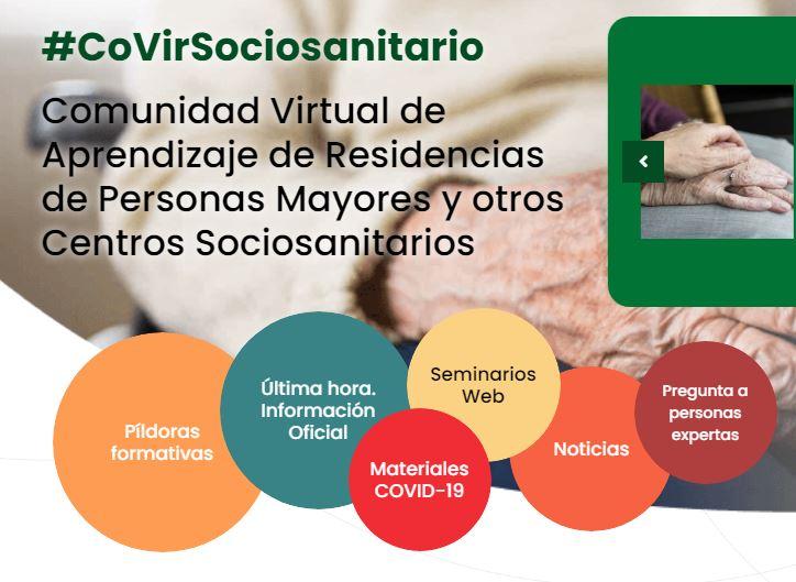 #CovirSocioSanitario: Comunidad virtual de aprendizaje de residencias de personas mayores y otros centros sociosanitarios