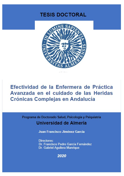 Tesis doctoral: Efectividad de la Enfermera de Práctica Avanzada en el cuidado de las Heridas Crónicas Complejas en Andalucía