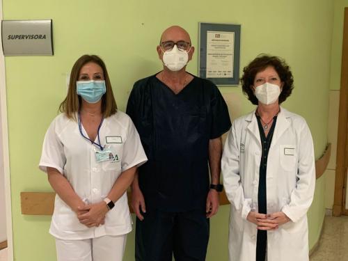 Enfermeras del Hospital de Puerto Real apuestan por la mejora de la asistencia a pacientes COVID-19 con la elaboración de una guía de cuidados