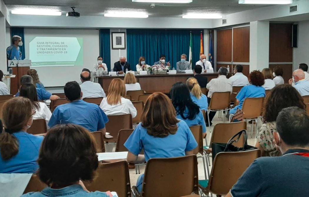 El Hospital de Úbeda edita una guía de cuidados para pacientes con Covid-19