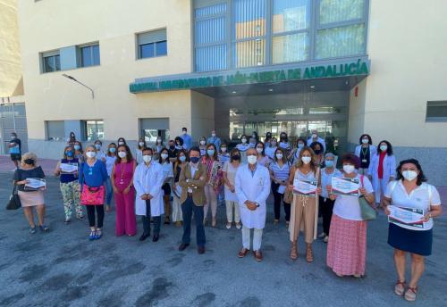 El Hospital de Jaén reconoce a las enfermeras comprometidas con la excelencia en cuidados