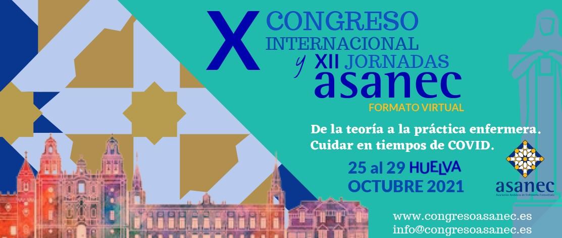 X Congreso Internacional de la Asociación Andaluza de Enfermería Comunitaria – 25 al 29 de Octubre (virtual)