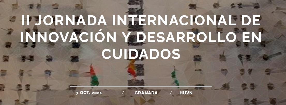 II Jornada Internacional de innovación y desarrollo en cuidados – 7 de octubre