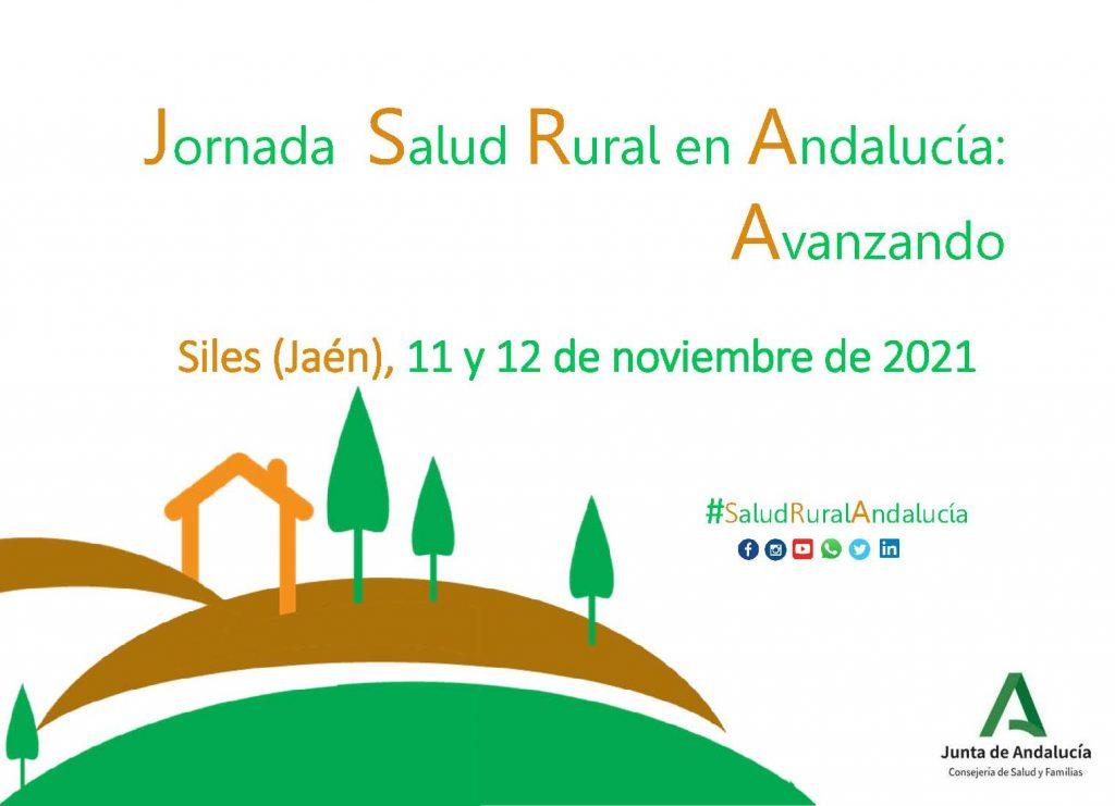 I Jornada Salud Rural Andalucía: 11 y 12 de noviembre