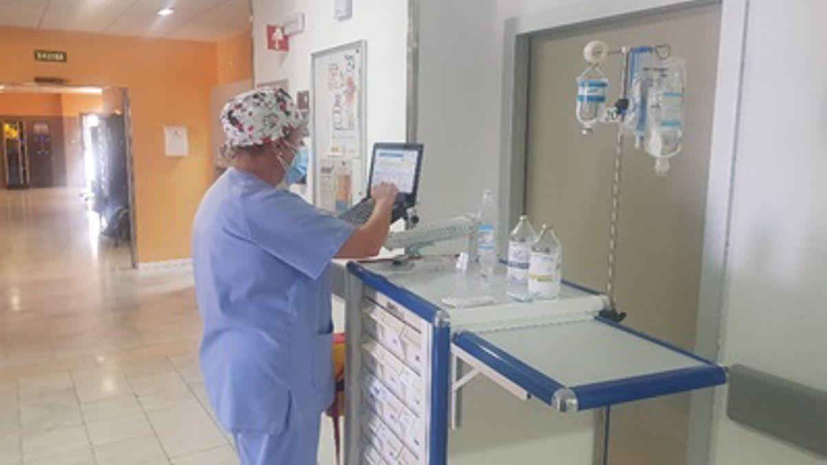 El Hospital Valle de los Pedroches implanta un módulo de registro de administración específico para enfermería a través de tablet
